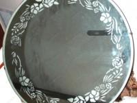 Рисунок песок фон зеркало